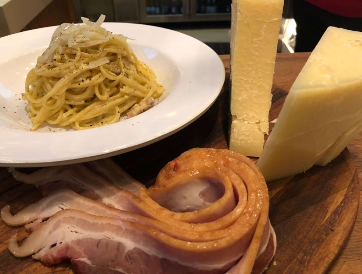 Carbonara Month at Barilla Restaurants in NYC