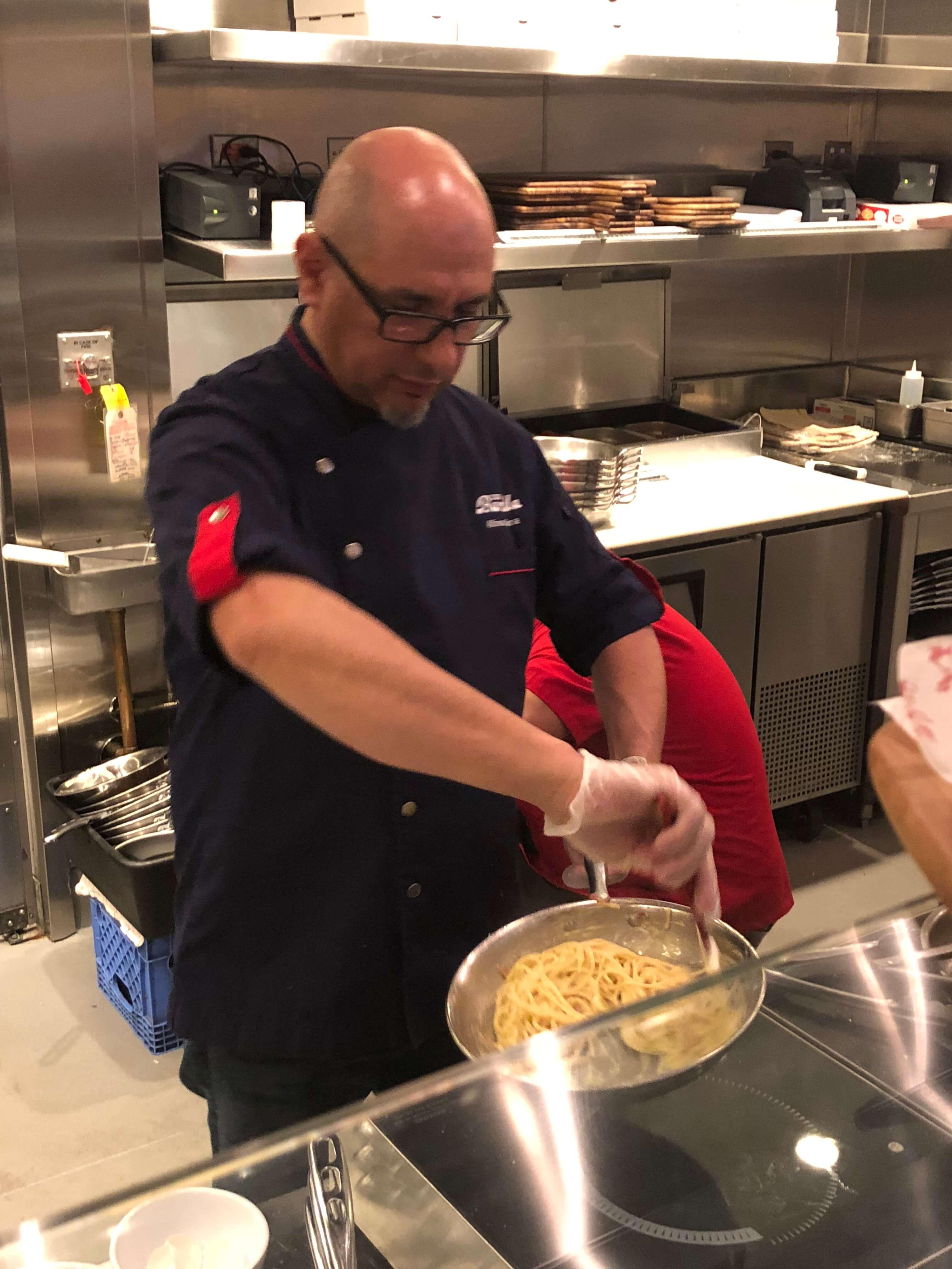 Carbonara Month at Barilla Restaurants in NYC