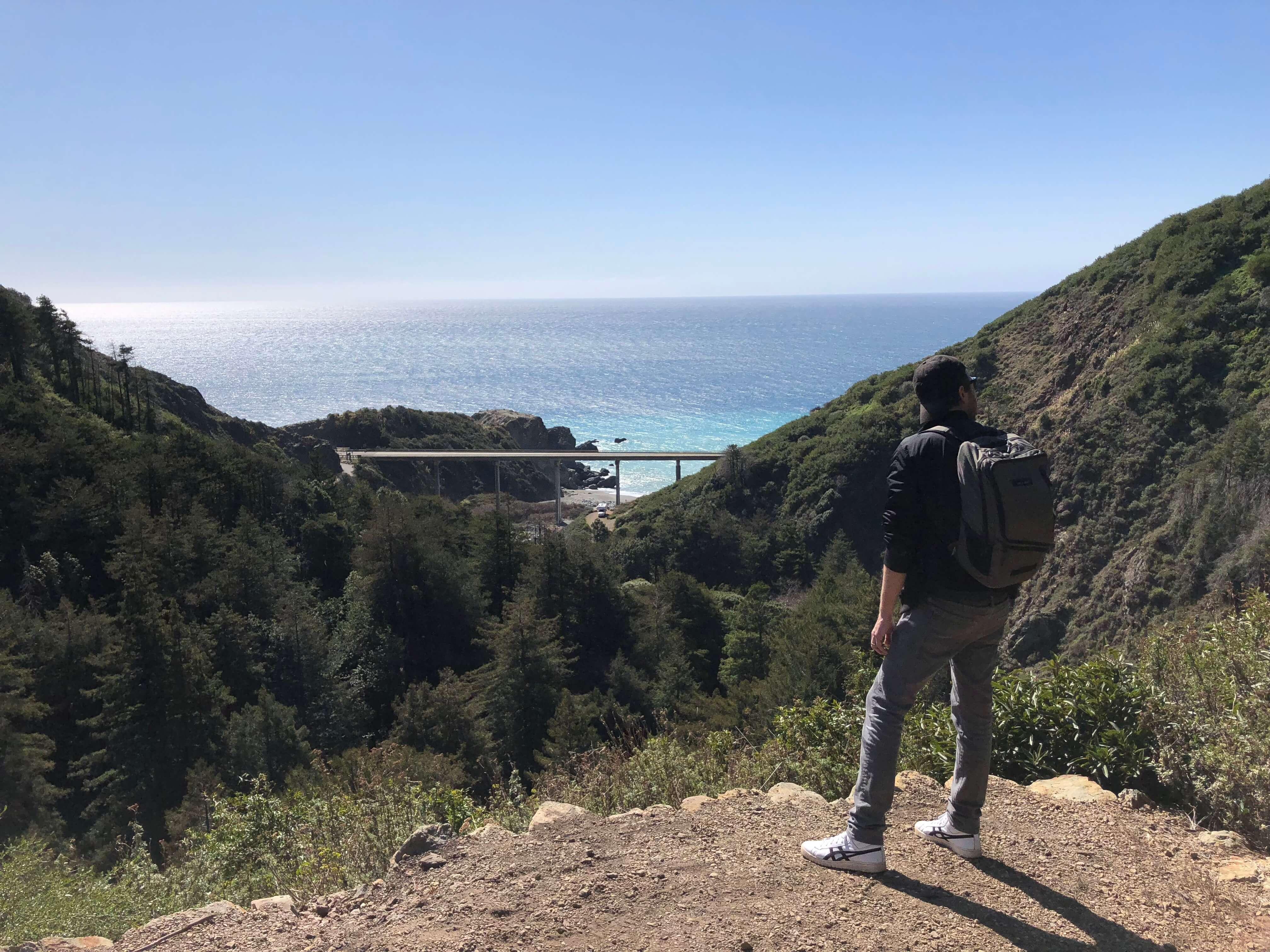 Limeklin State Park in big sur