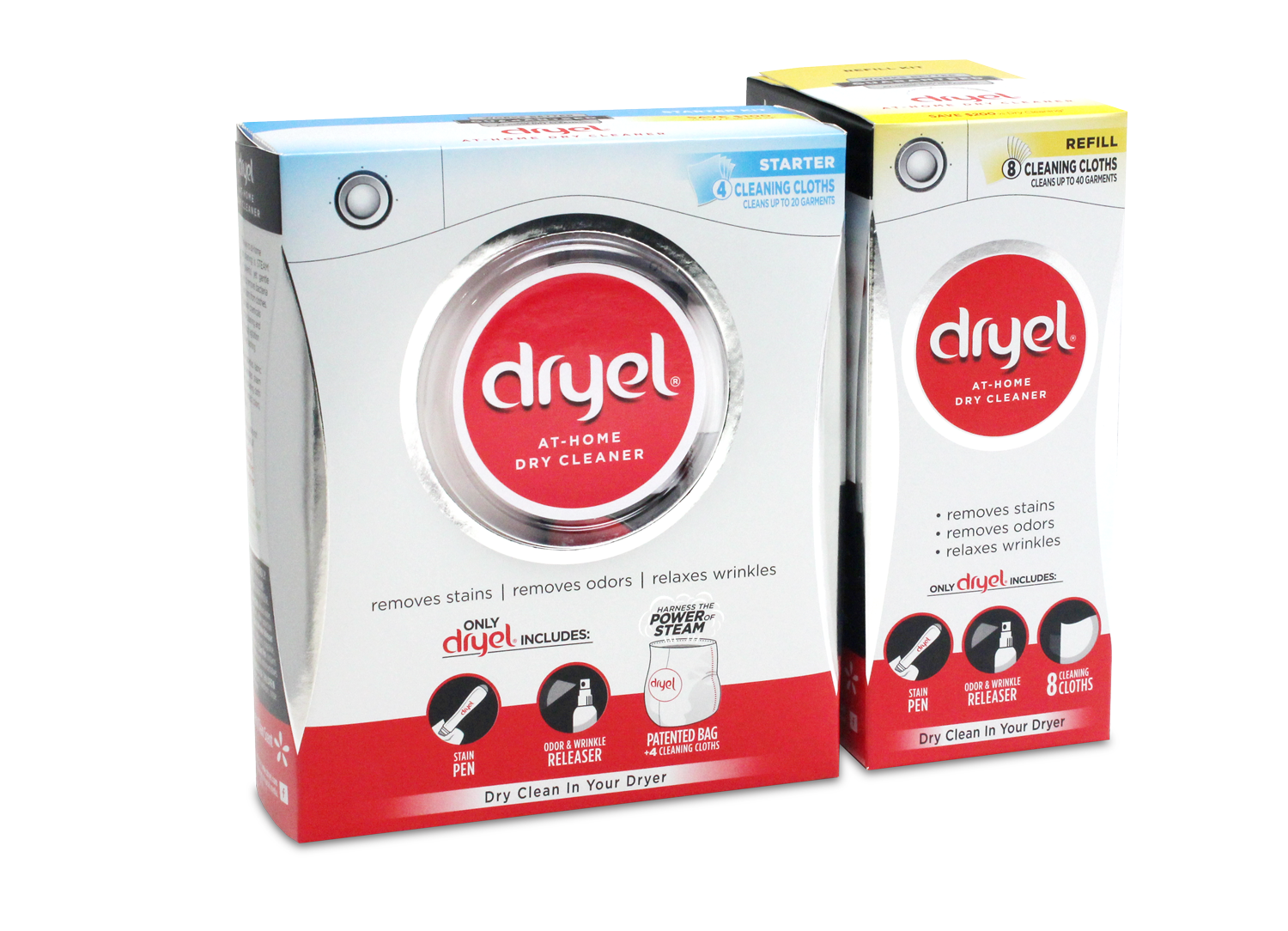 Dryel At Home Dry Cleaner Refill Kit 8 Count Com