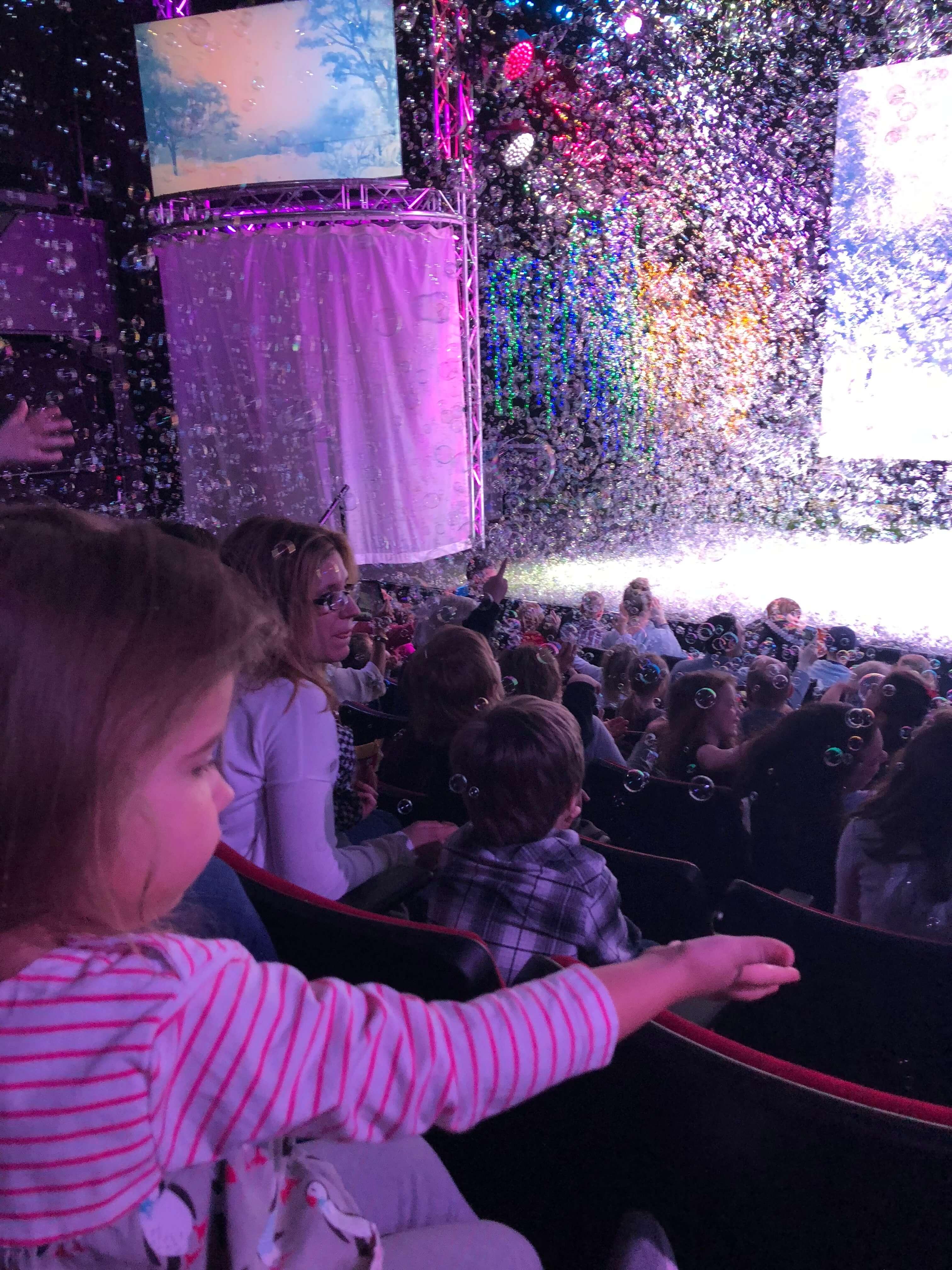 Gazillion Bubble Show magic in nyc