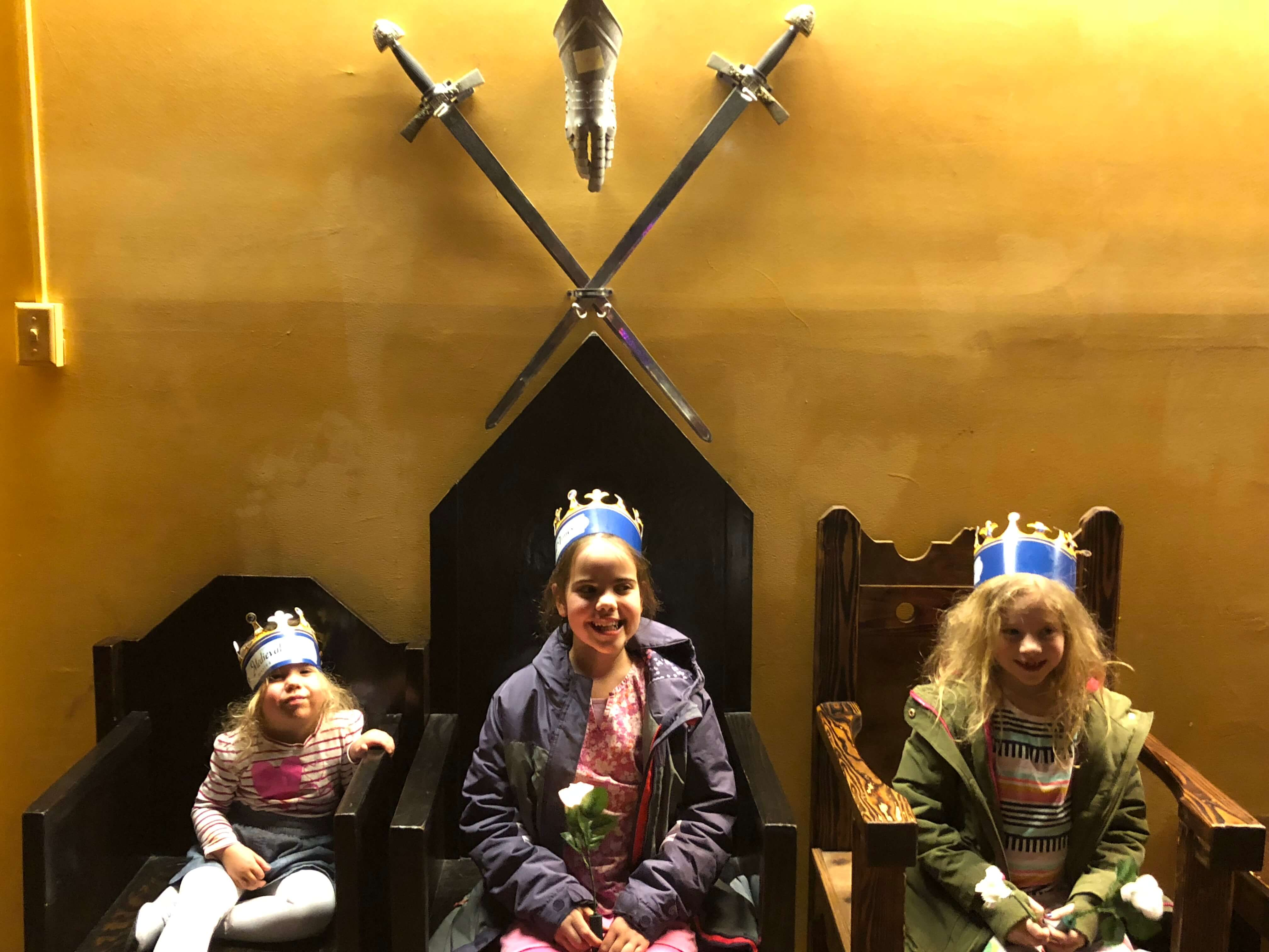 medieval times with kids