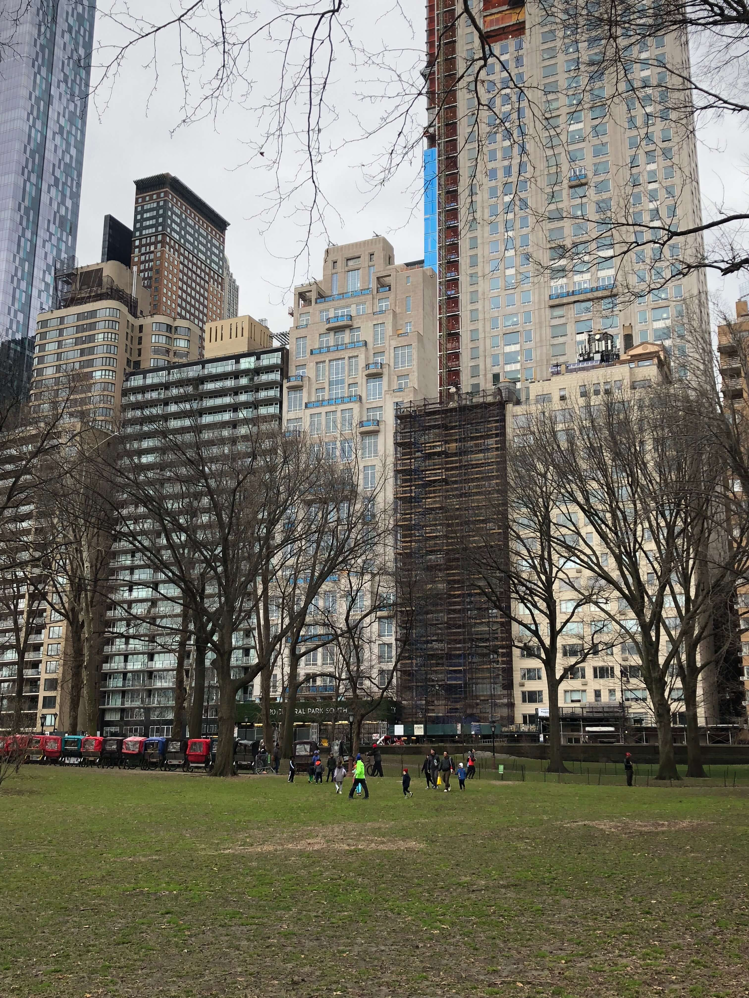 Free Rising New York Road Runners Classes running in central park