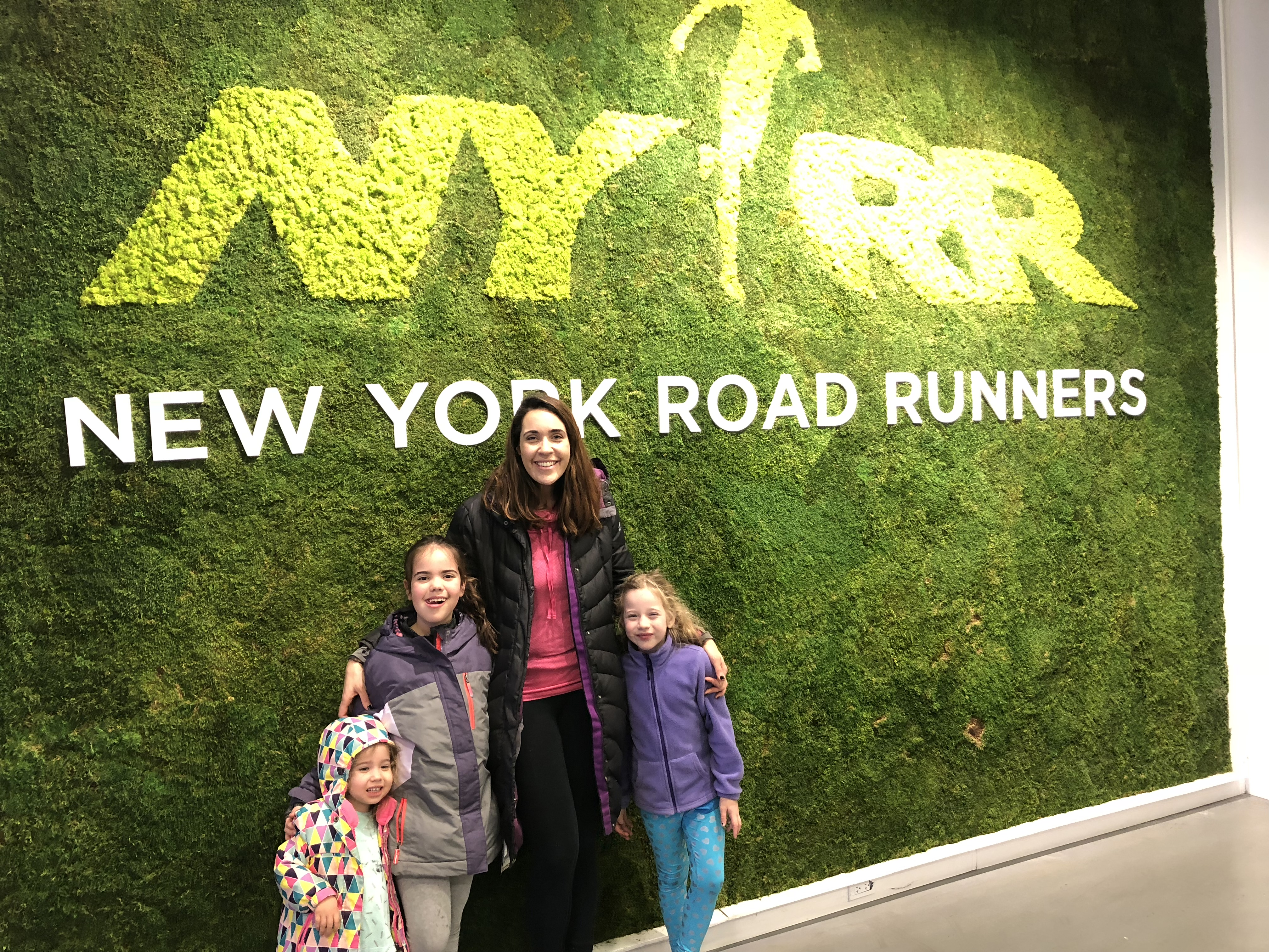 Free Rising New York Road Runners Classes with family