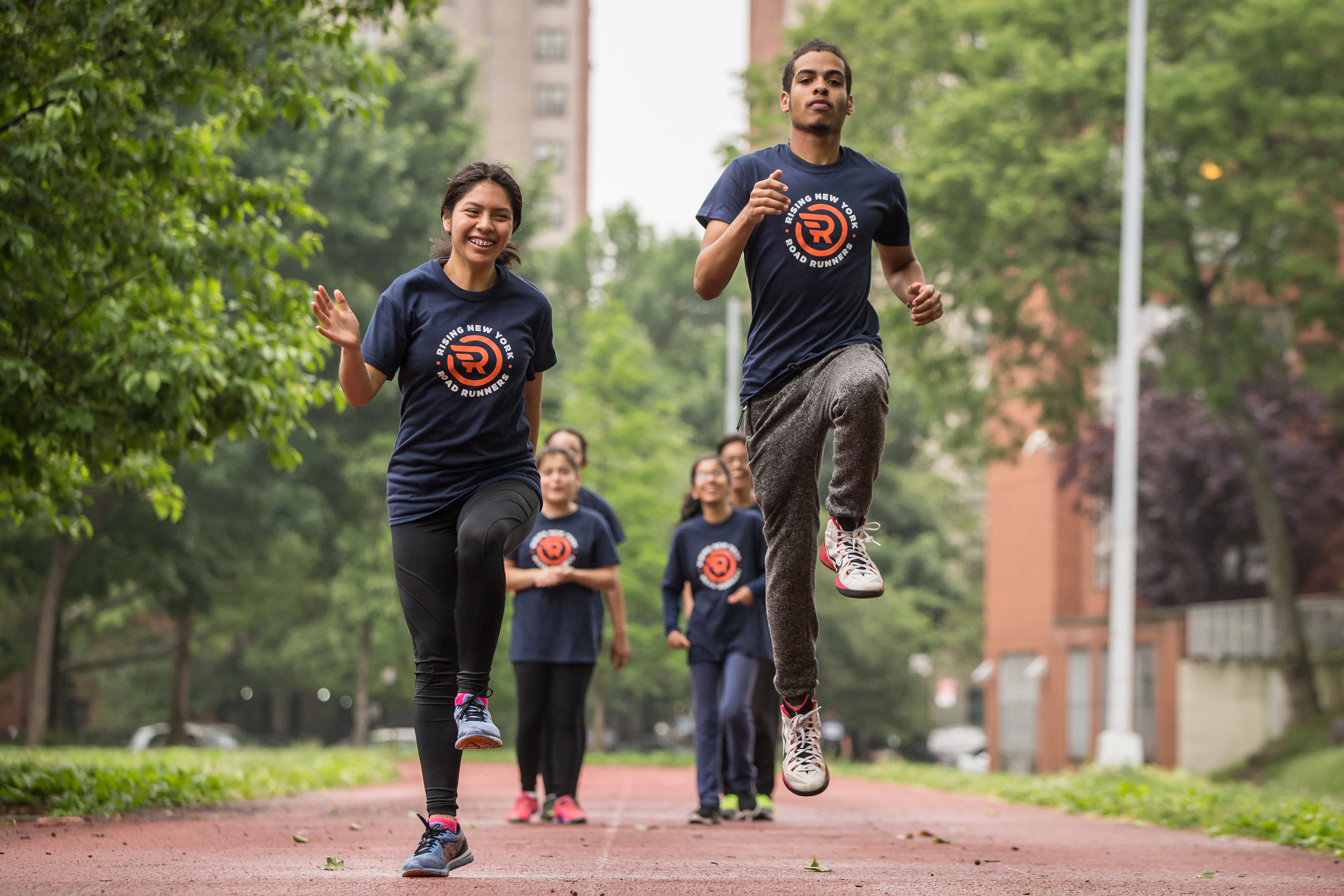 Rising New York Road Runners program for families in NYC