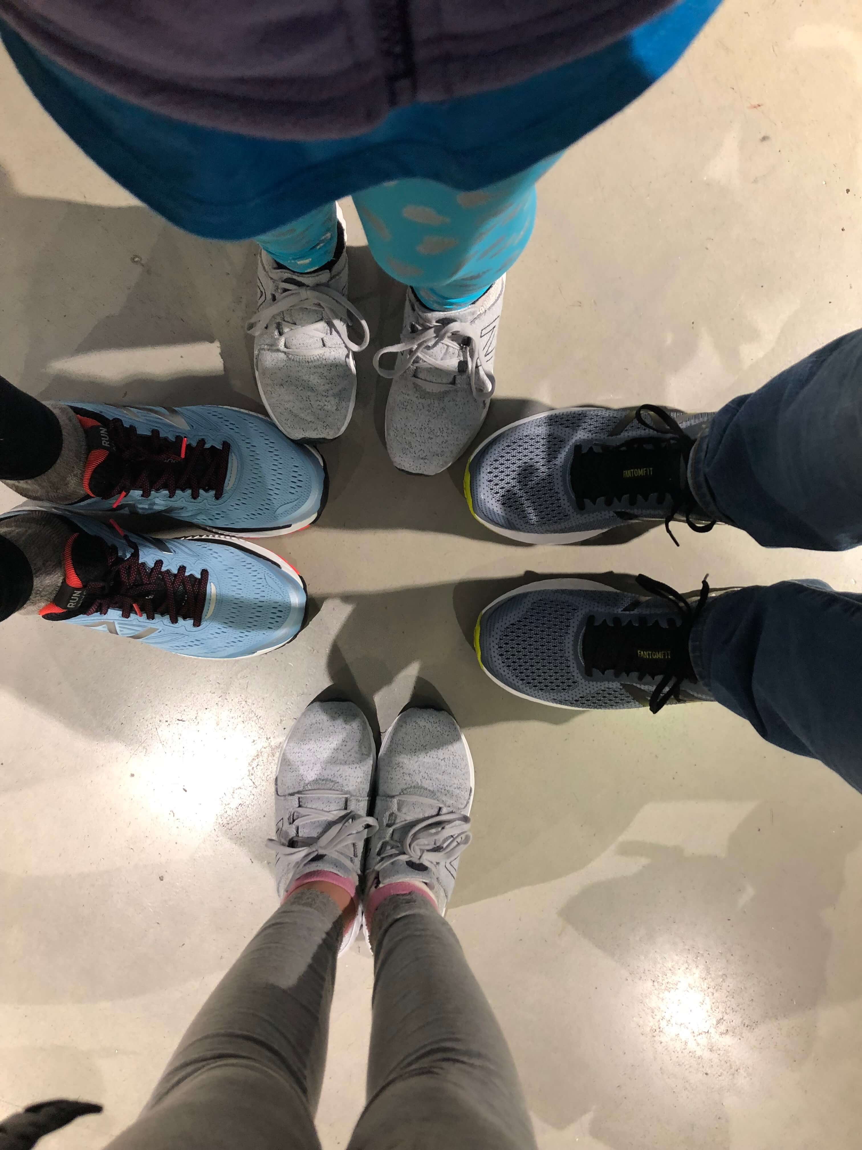 Free Rising New York Road Runners Classes new balance shoes
