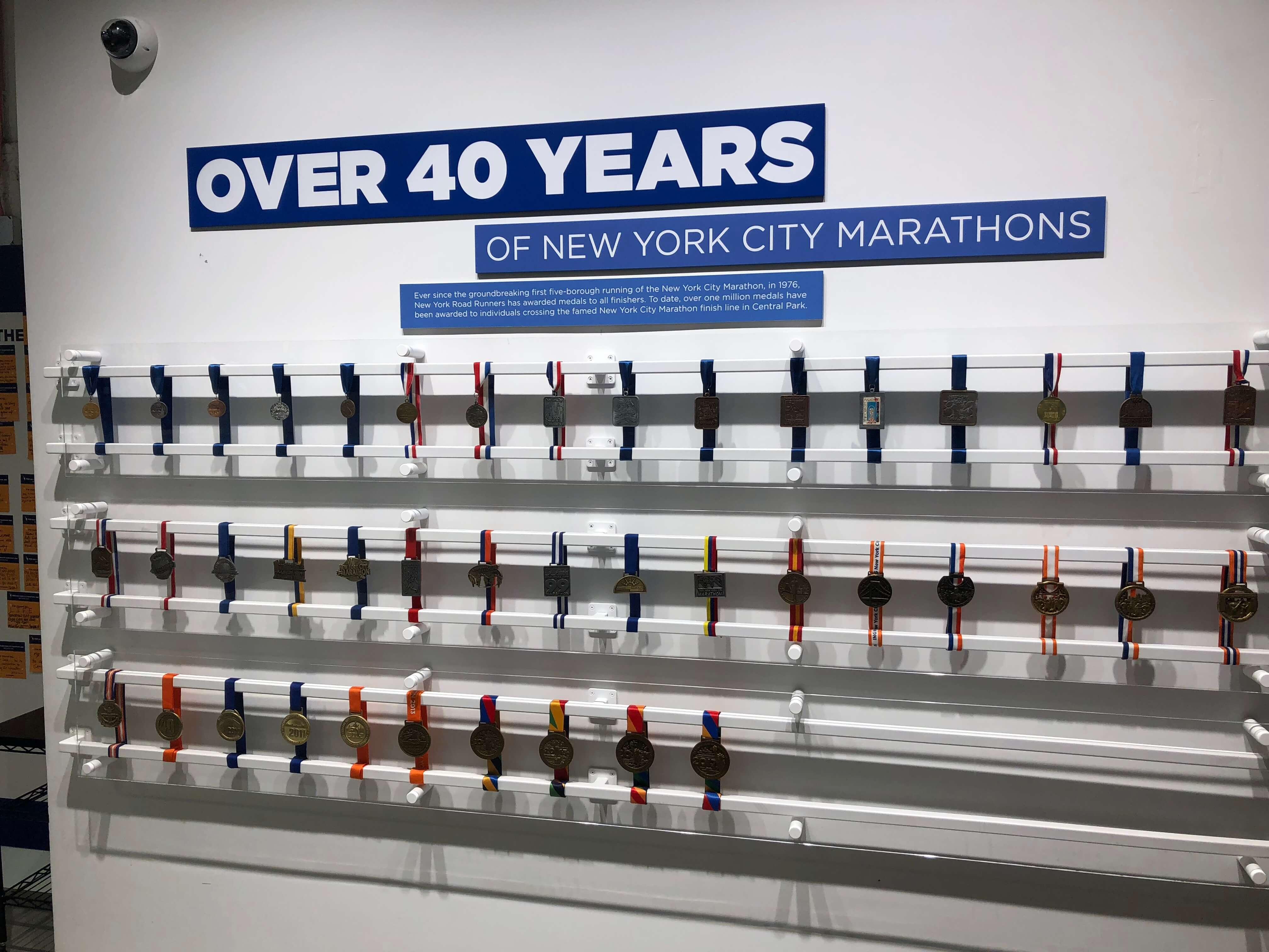 Free Rising New York Road Runners Classes marathon medals