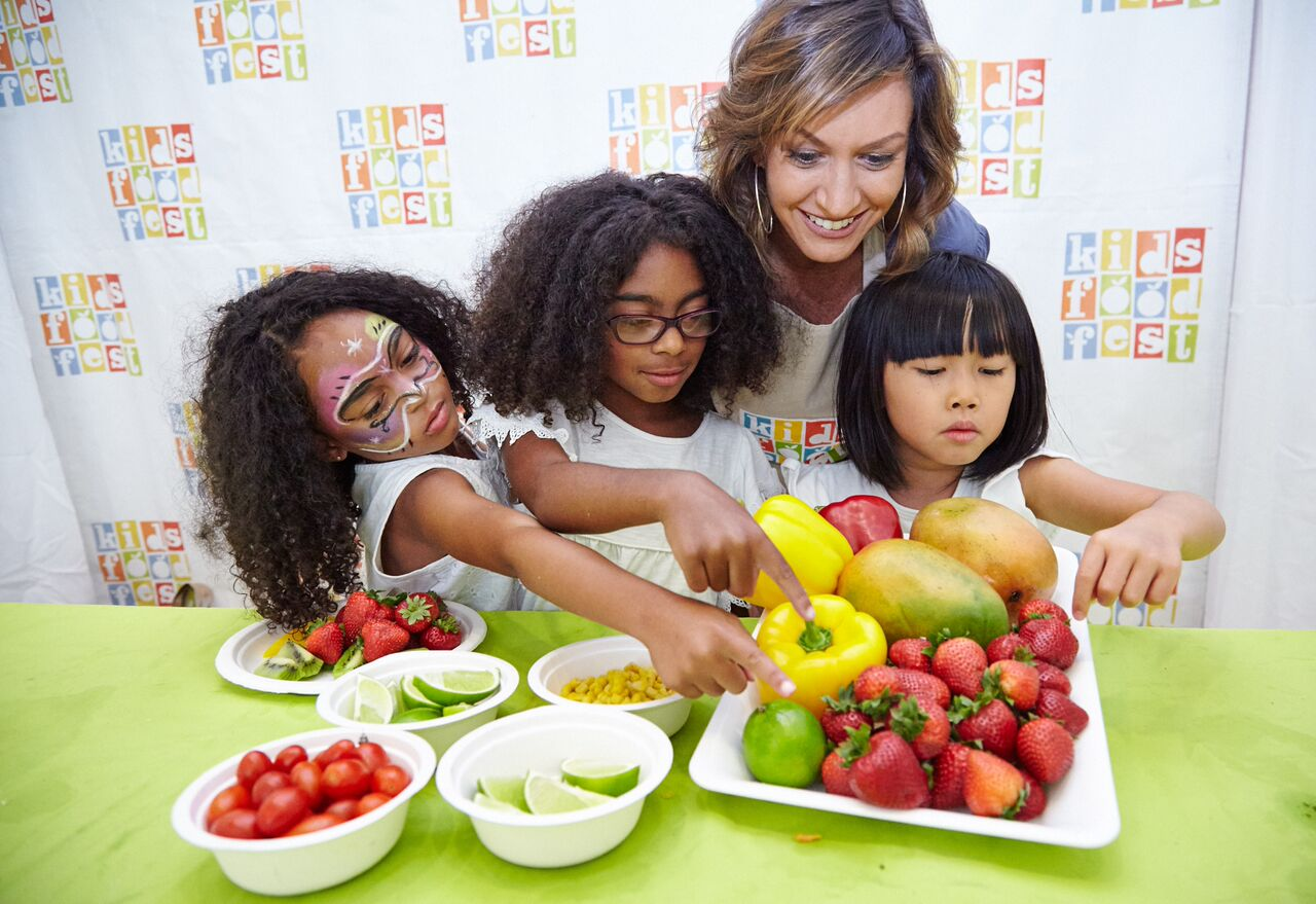 creative kids food festival in New York City