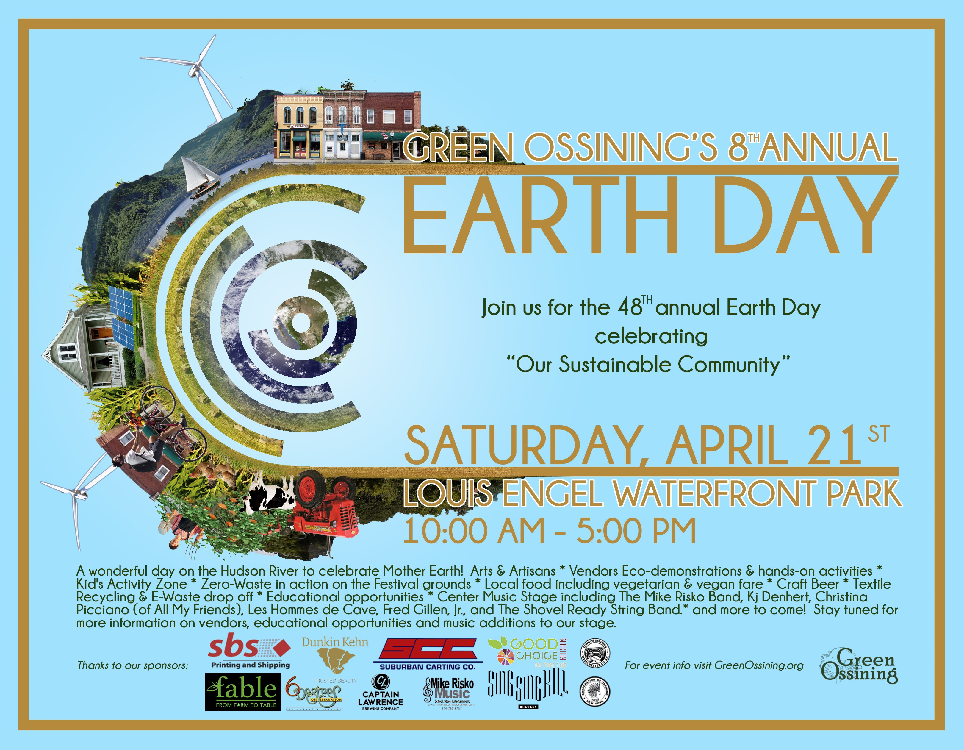 Green Ossining's 8th Annual Earth Day Festival