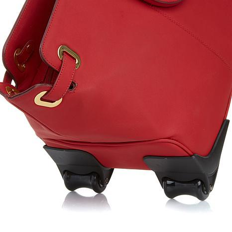 joy's weekender innovative luggage in red