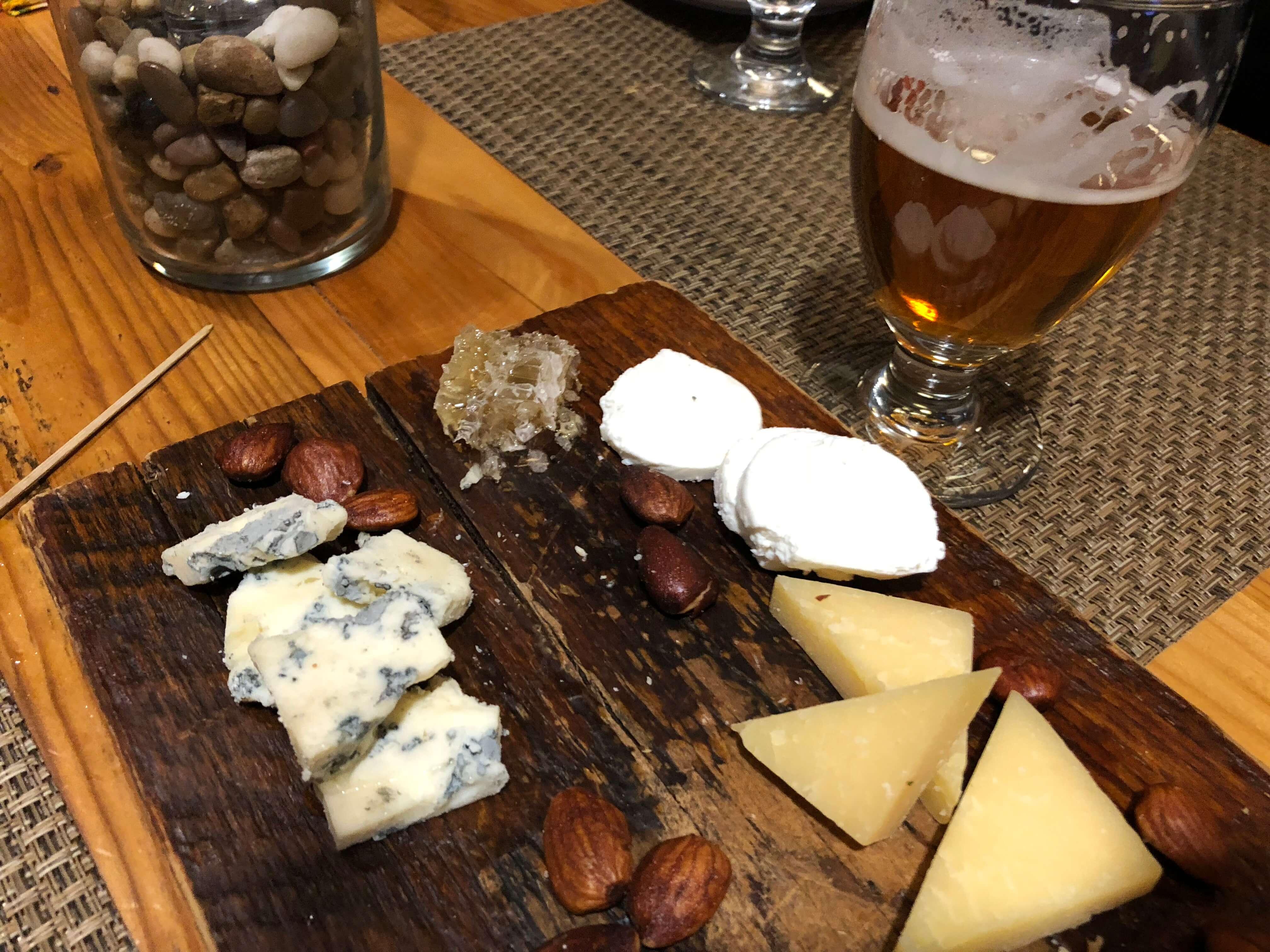 Killington Resort learn to ski program cheese platter