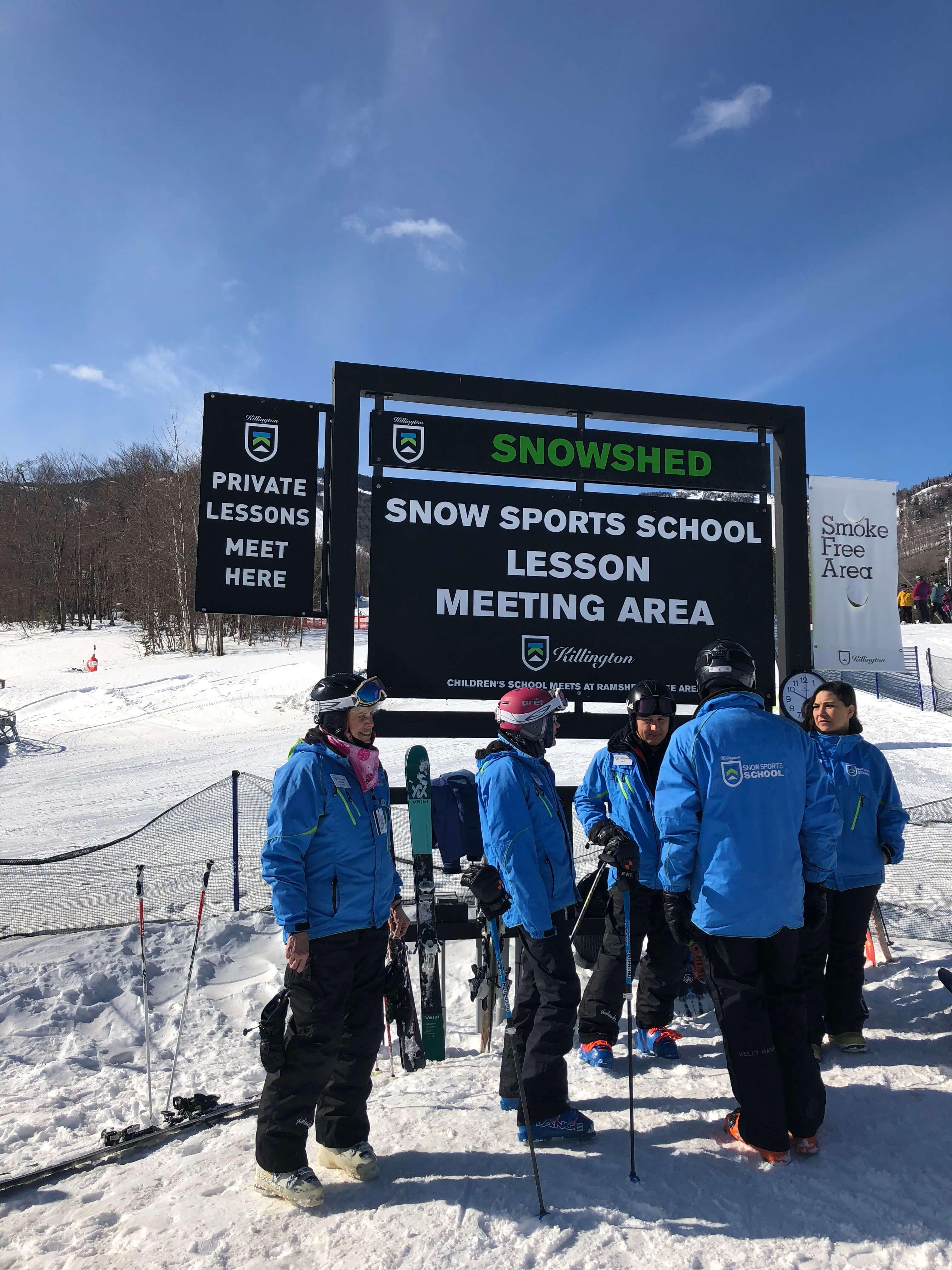 Killington Resort learning to ski program