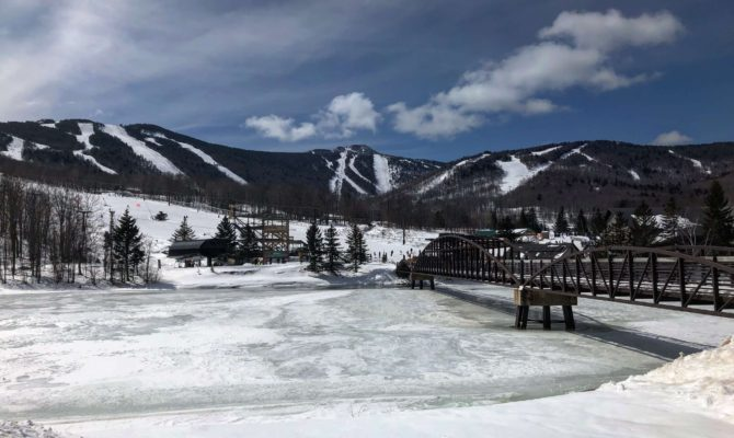 Killington Resort learning to ski as an adult