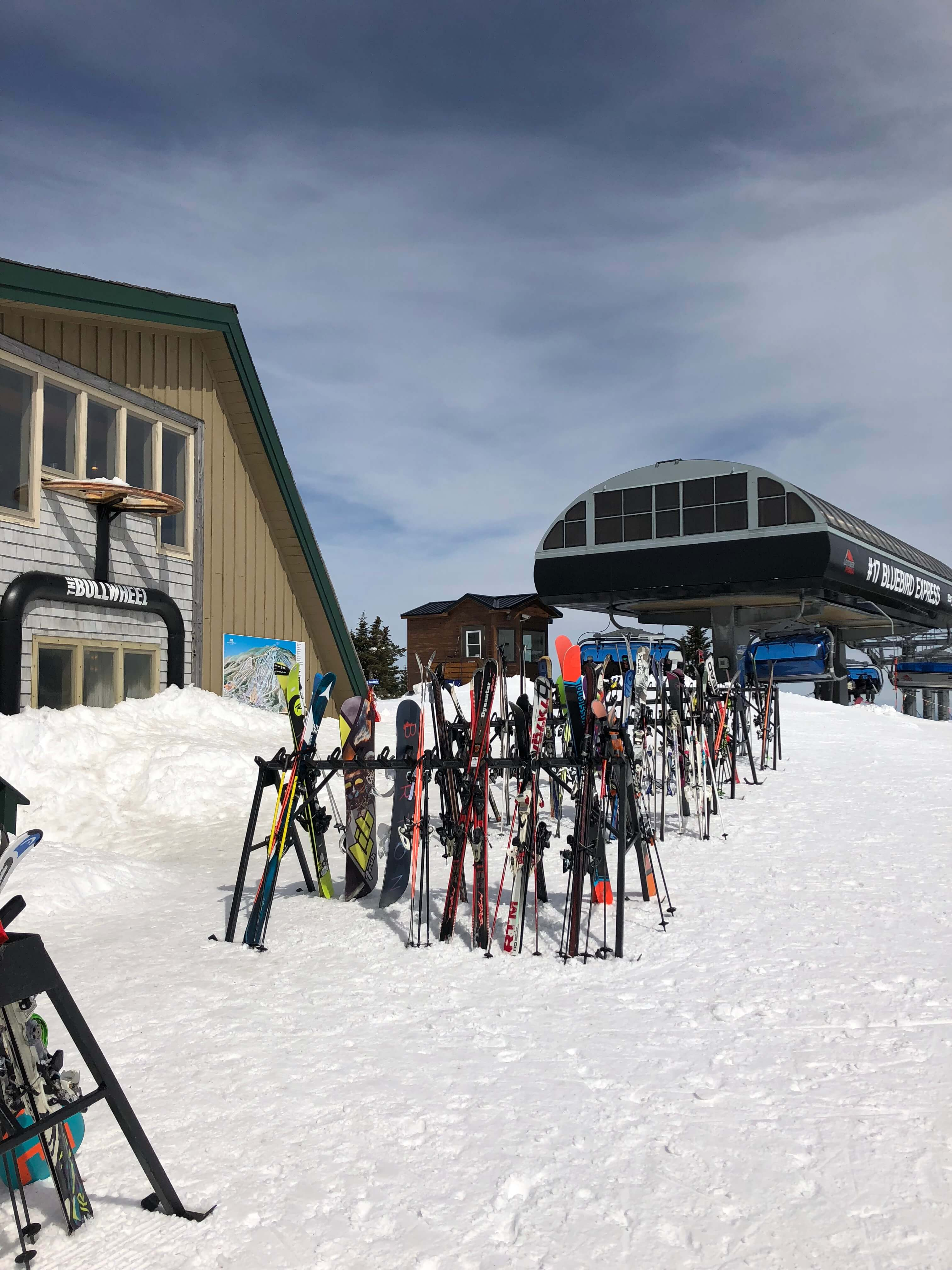 learning to ski as an adult at mount snow and food