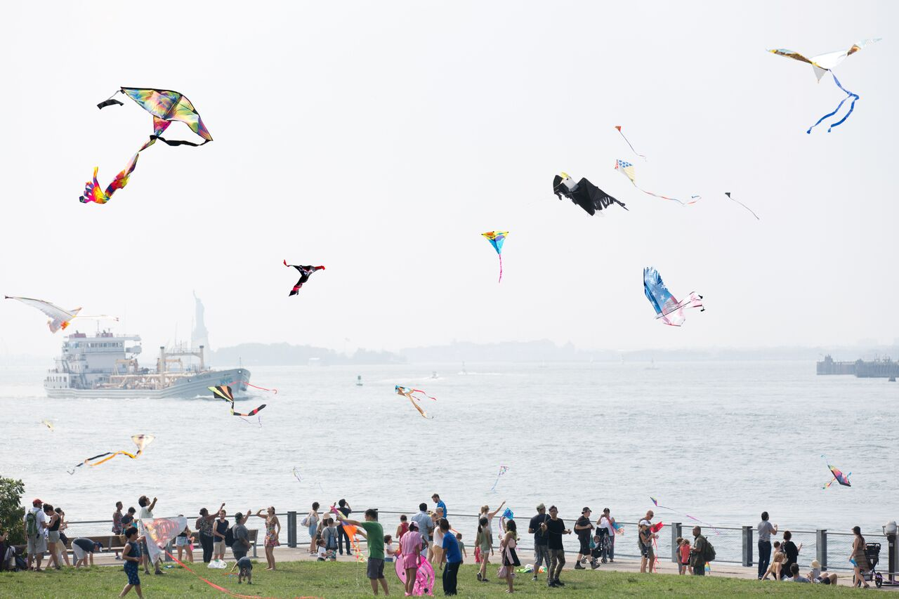 Lift Off: A Waterfront Kite Festival in brooklyn