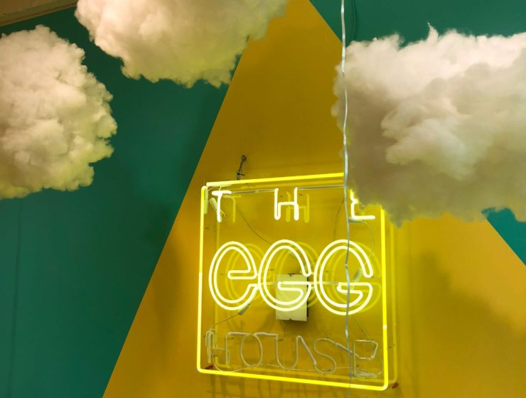 The Egg House in the Lower East Side