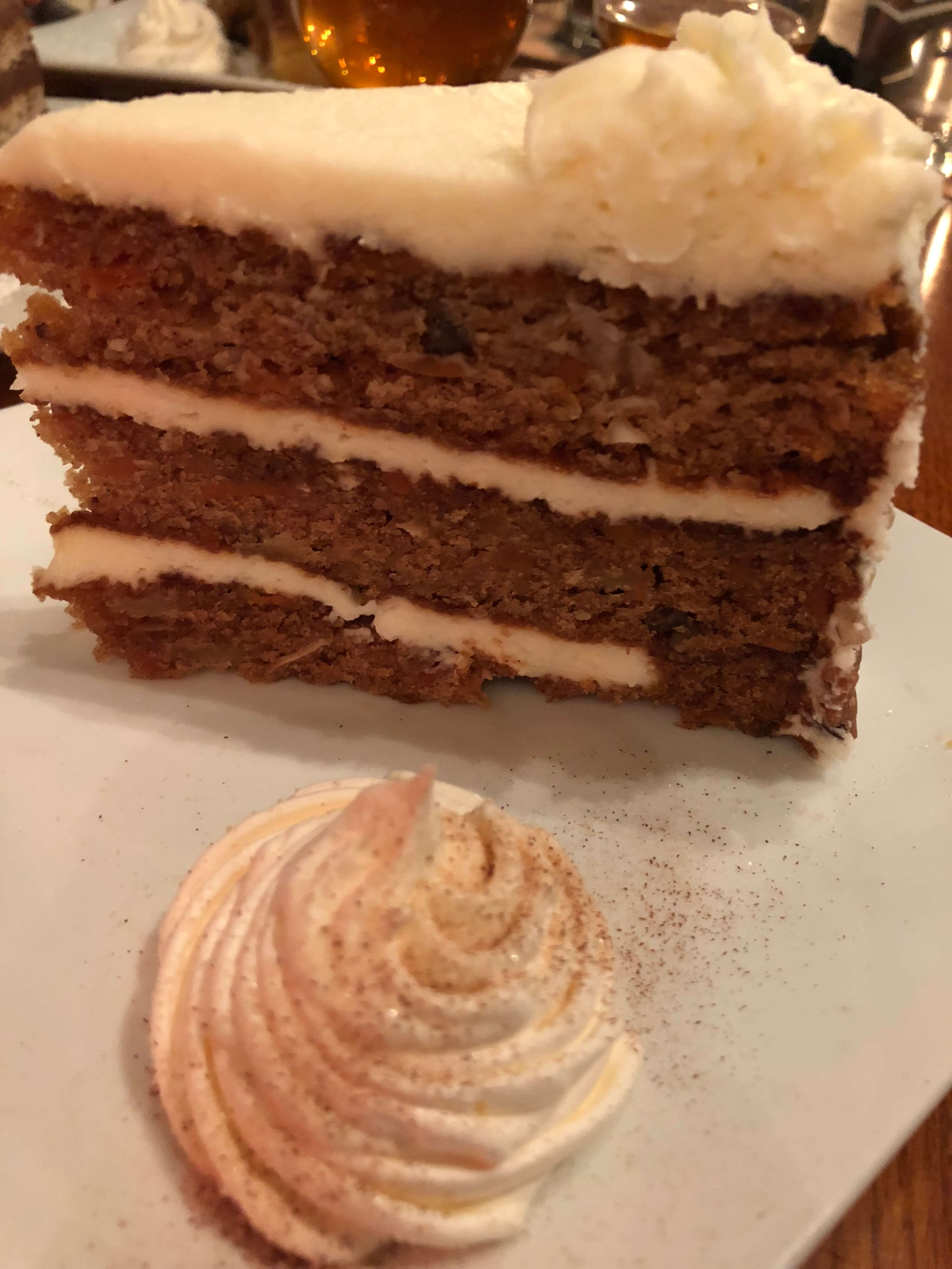 whetson station carrot cake