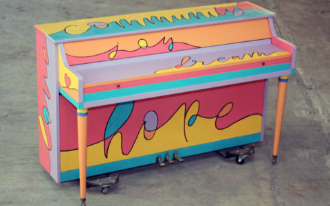 2018 Sing for Hope Pianos