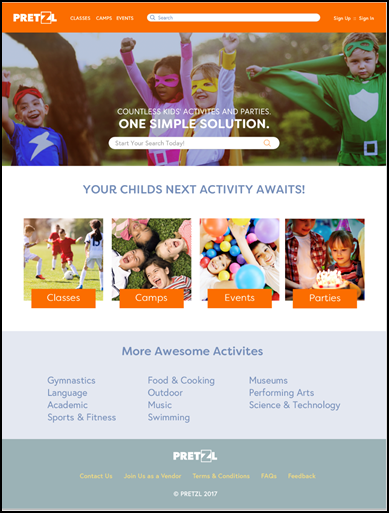 A New Activity Website for Westchester Parents