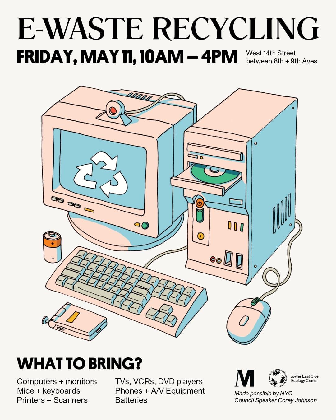 E-Waste Recycling Event Details