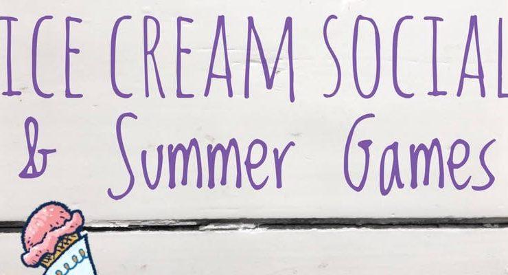 DESCRIPTION Ice Cream Social & Summer Games at the Greeley House