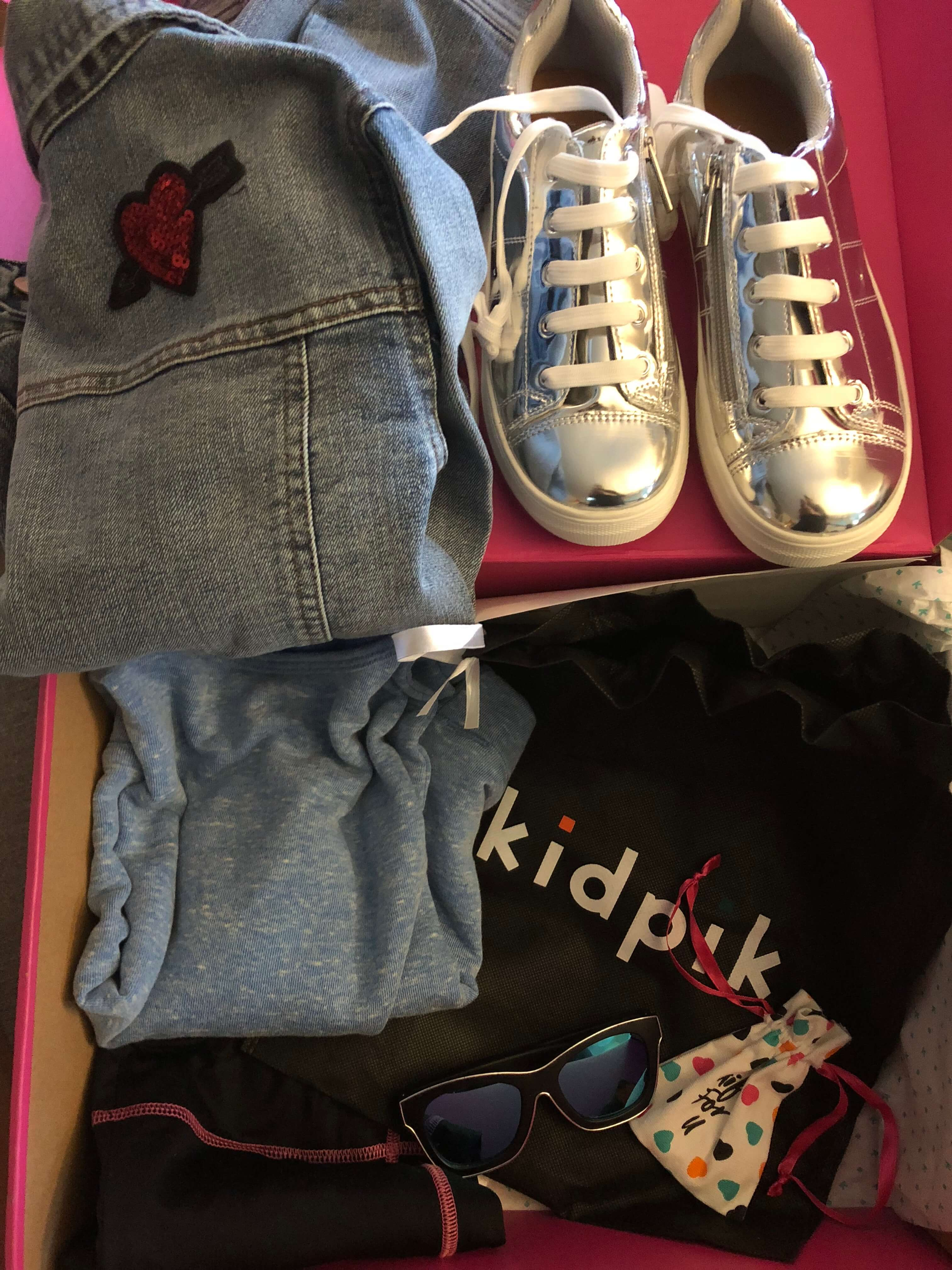 kidpik vacation and camp boxes for girls
