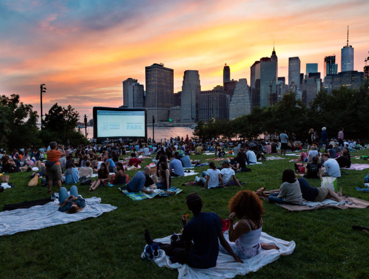 Movies with a View in Brooklyn Bridge Park
