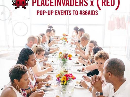 Date Night Idea: West Village Pop-up Dinner & Brunch Series, in Support of (RED)