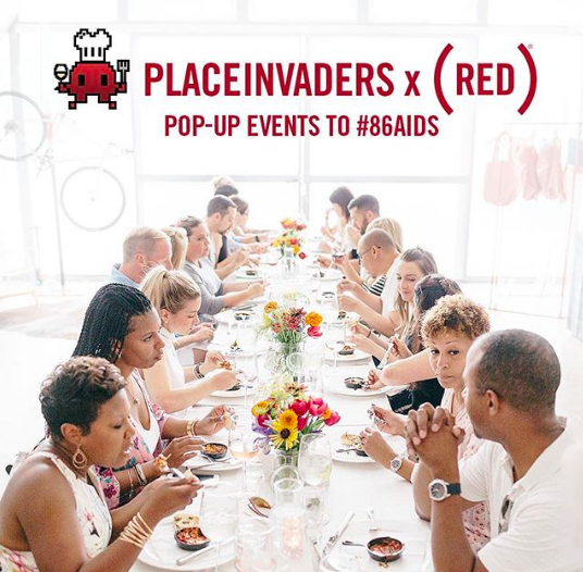 Date Night Idea: West Village Pop-up Dinner & Brunch Series, in Support of (RED)