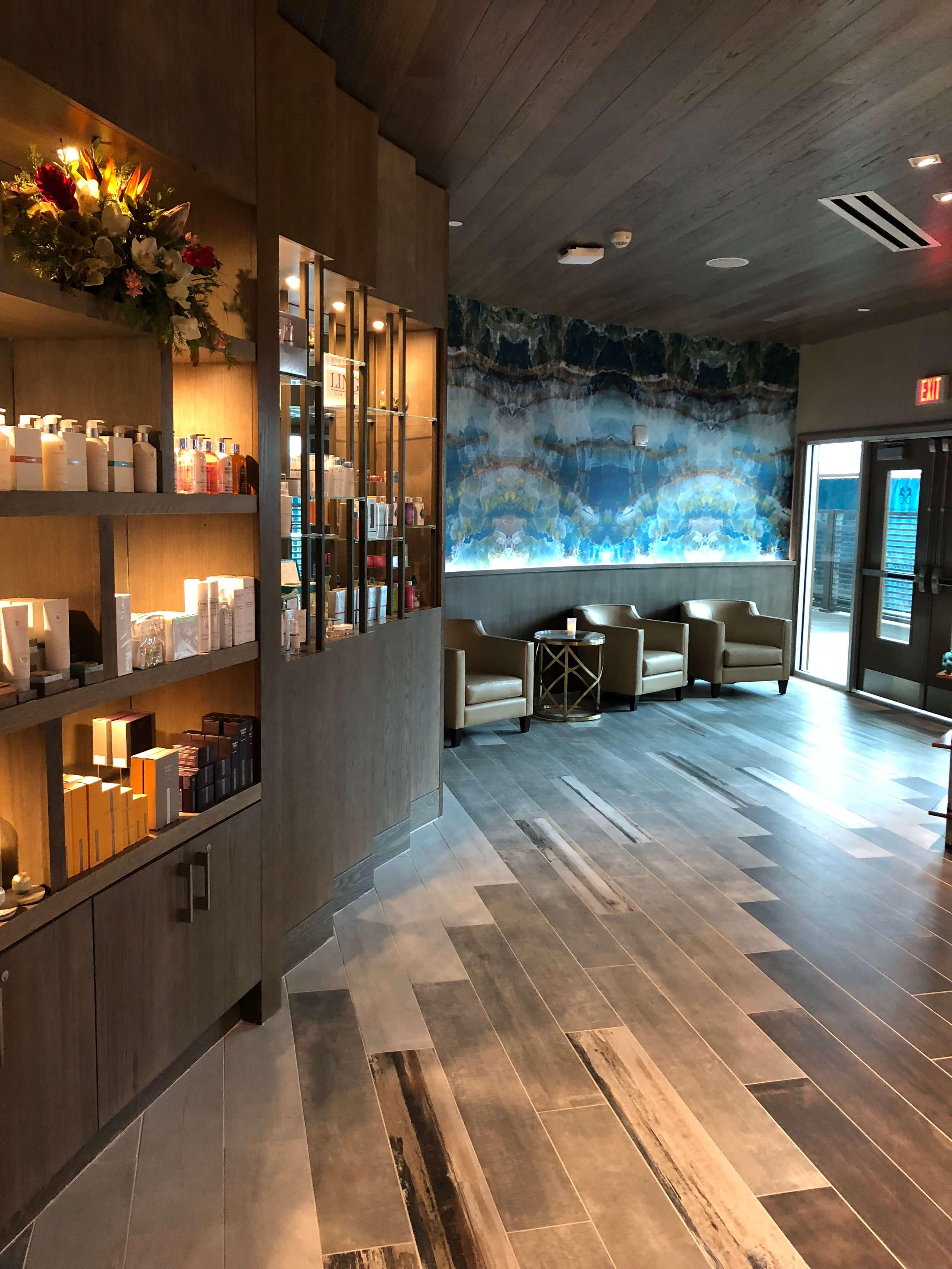 crystal life spa lobby