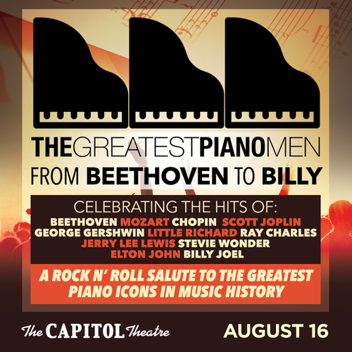 The Greatest Piano Men at the Capital Theatre