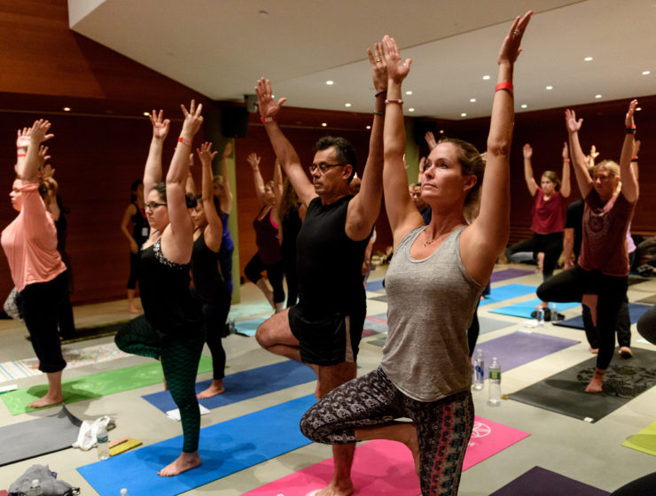 Art and Yoga Urban Retreat at the Rubin Museum