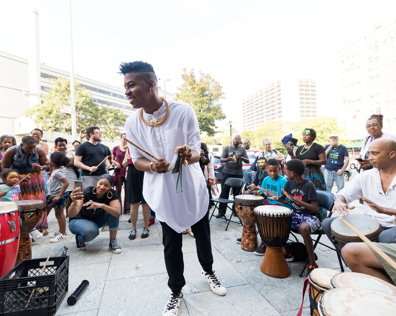 Harlem Stage Open House: Drum Circle, Community Sing & DJ Party