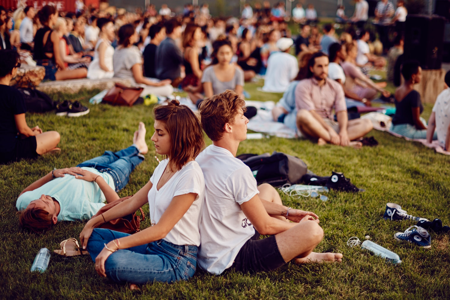 The Big Quiet: Mass Meditation in NYC
