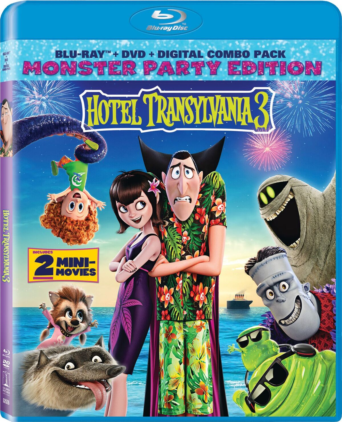 hotel transylvania out on DCD