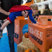 Trick-or-Treat for UNICEF's #ScaryGood Carnival at The Oculus at Westfield World Trade Center