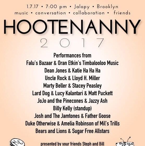 Hootenanny: A Night of Kid's Bands For Grown Ups