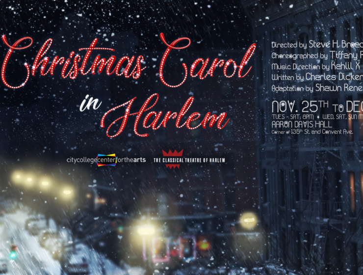 A Christmas Carol in Harlem: New Holiday Play from the Classical Theatre of Harlem