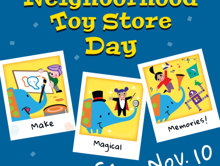Happy Neighborhood Toy Store Day