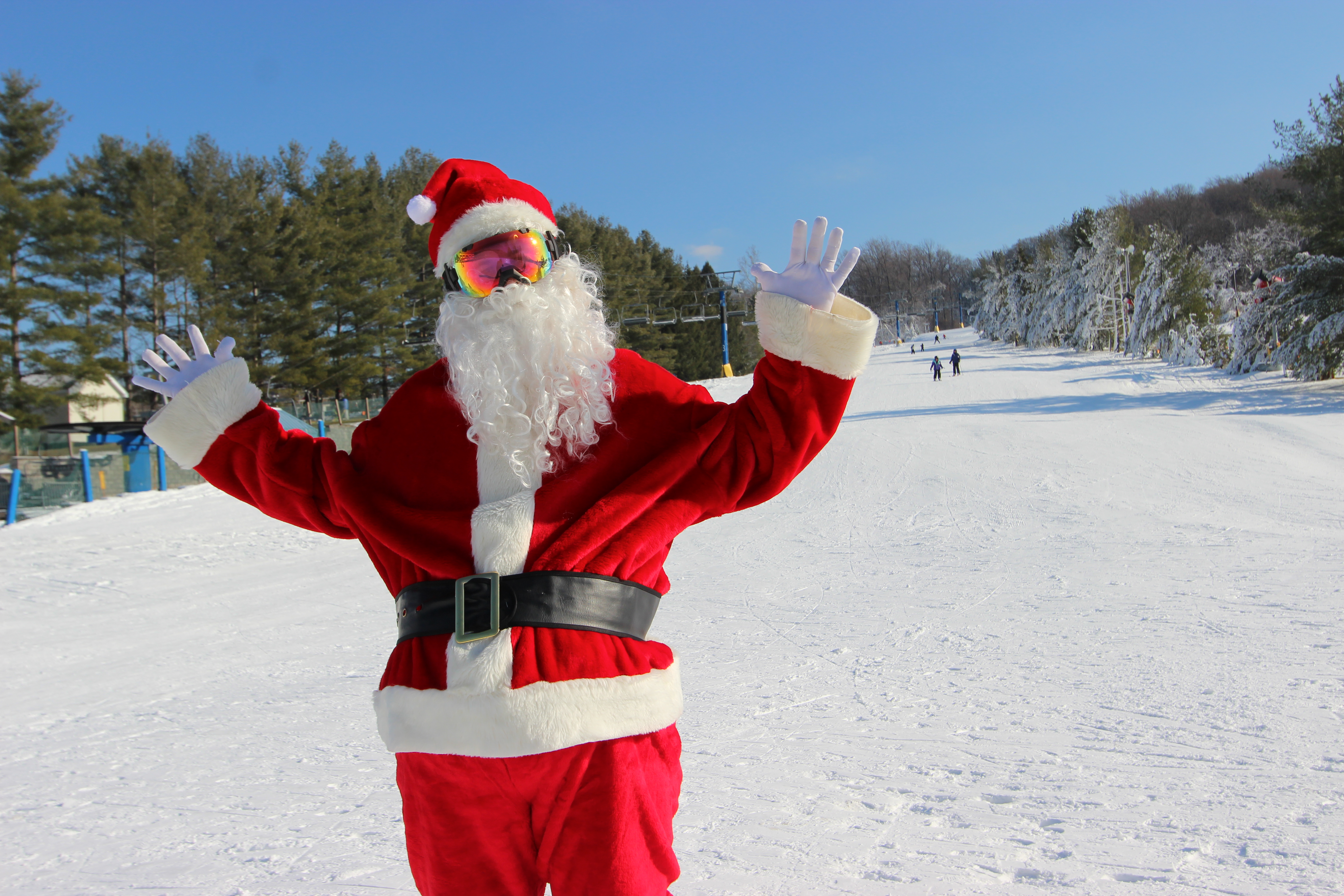 Holiday Events from Pennsylvania Ski Resorts Santa Claus