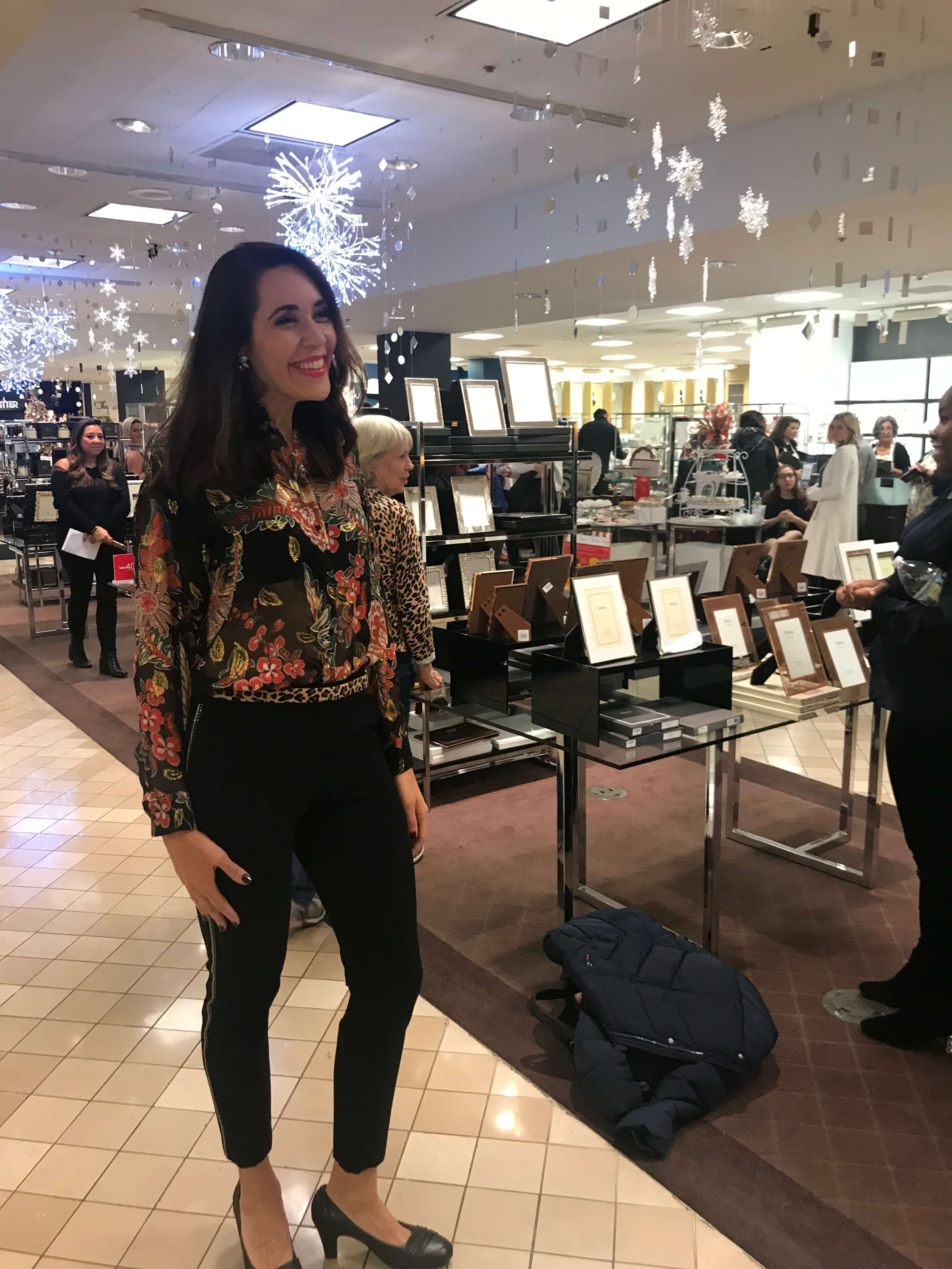 Getting Styled at Bloomingdale's for the Home for the Holidays Event