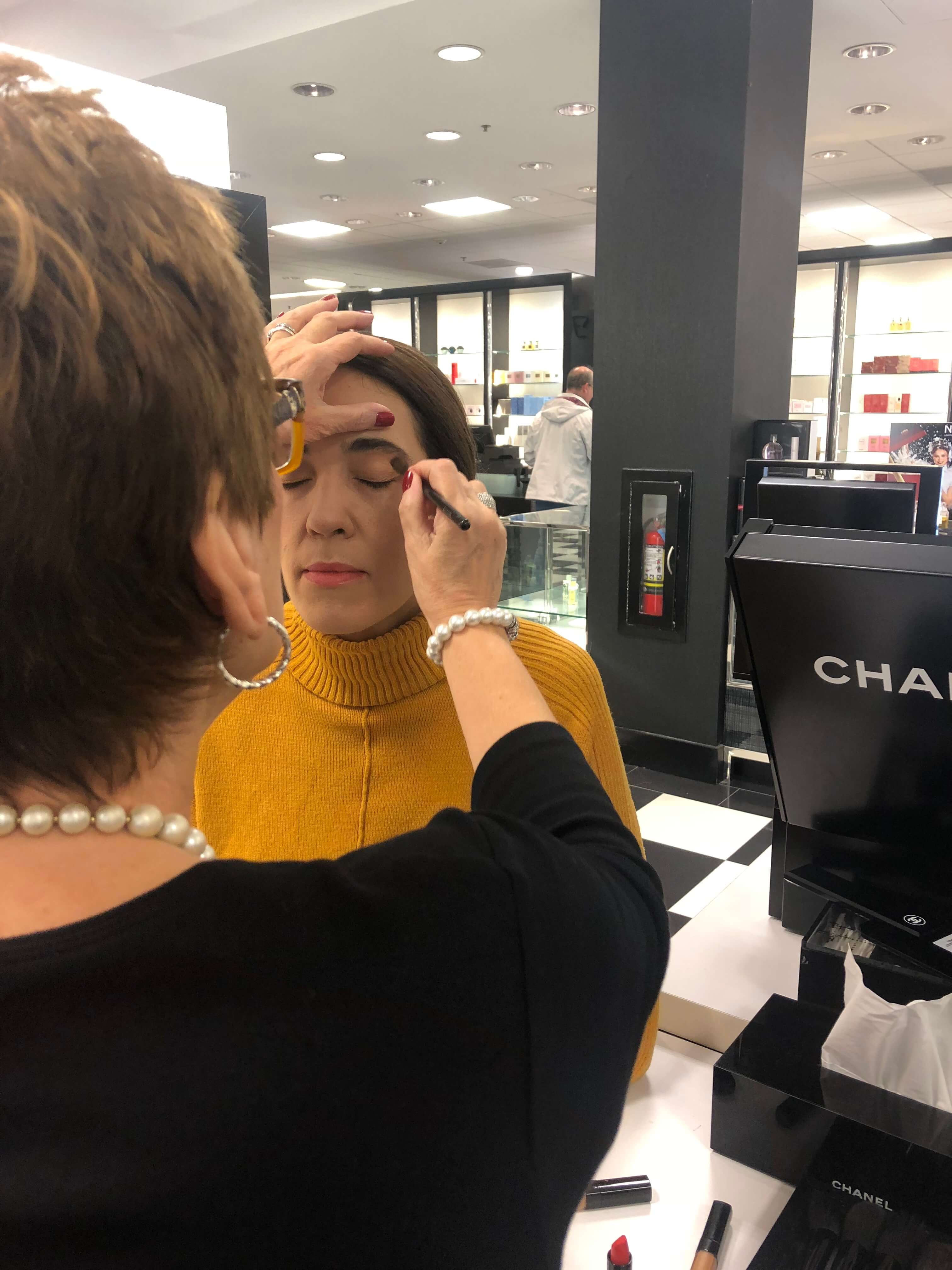 makeup from Chanel personal styling