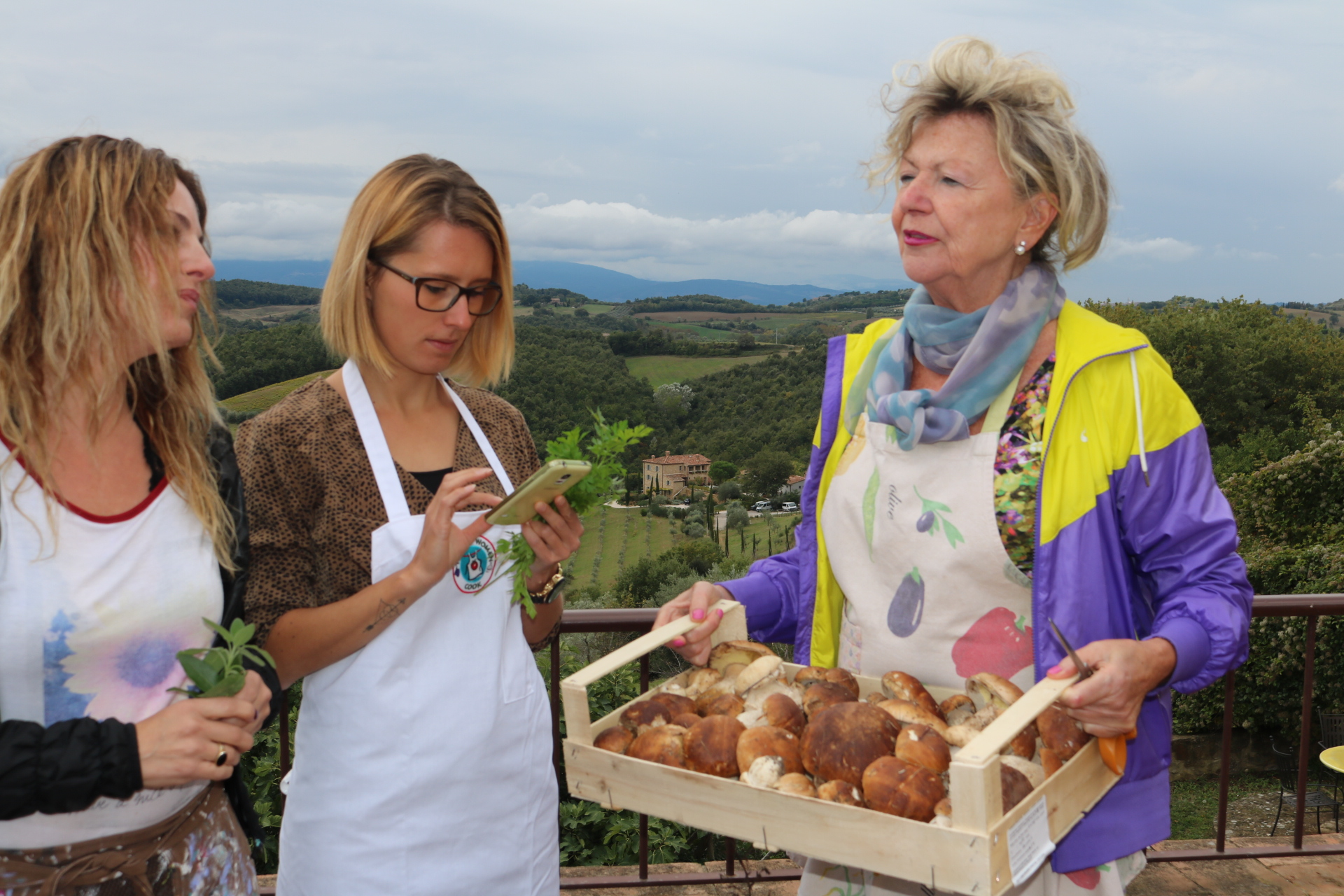 Interview with Tuscan Women Cook: