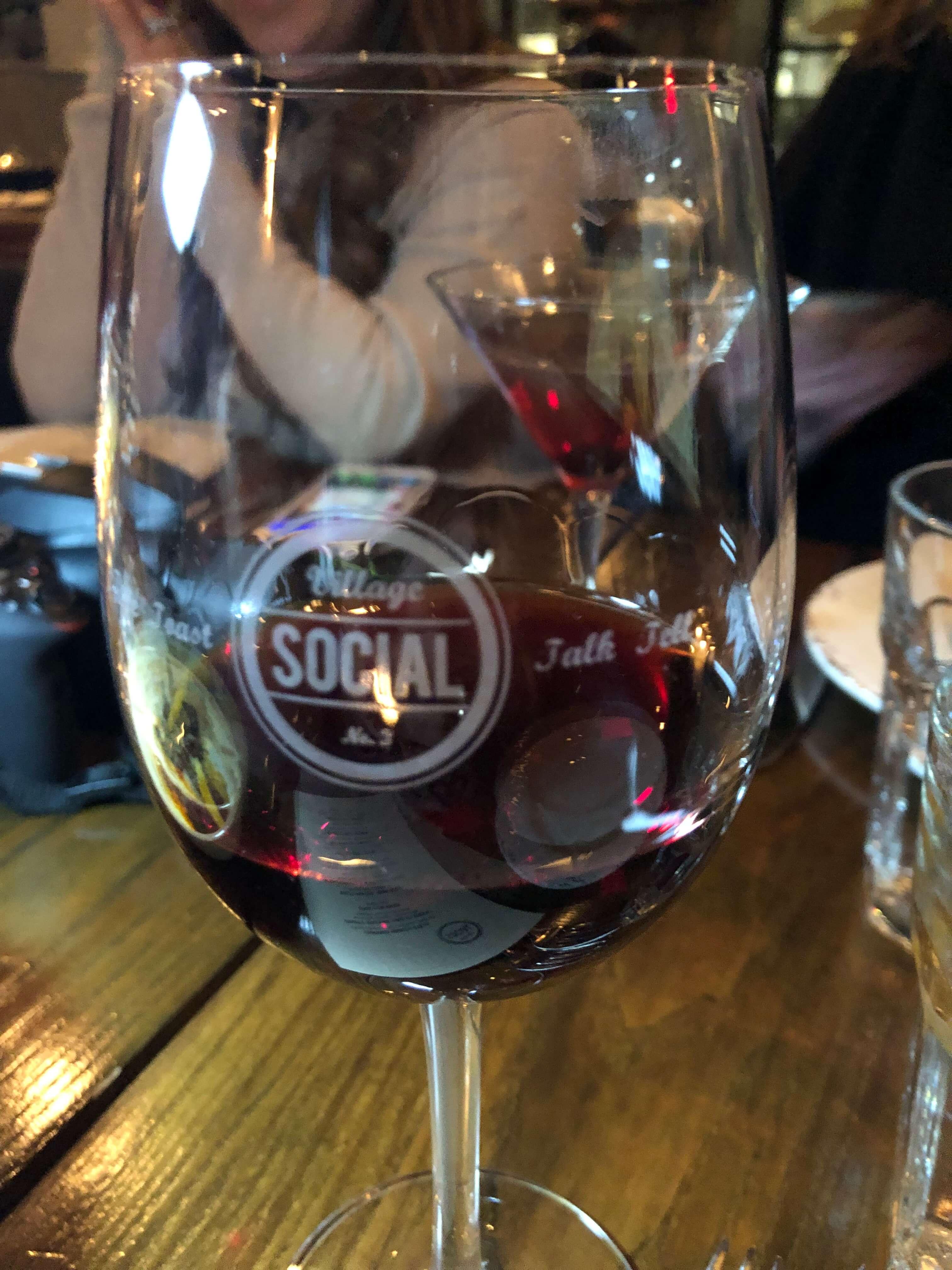 wine at village social rye
