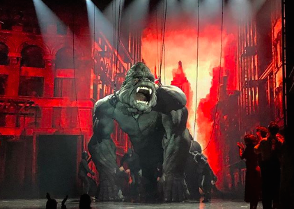 King Kong on Broadway