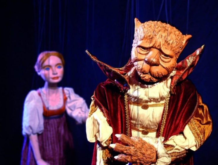 "Just Kidding at Symphony Space Presents National Marionette Theatre ""Beauty and the Beast"""