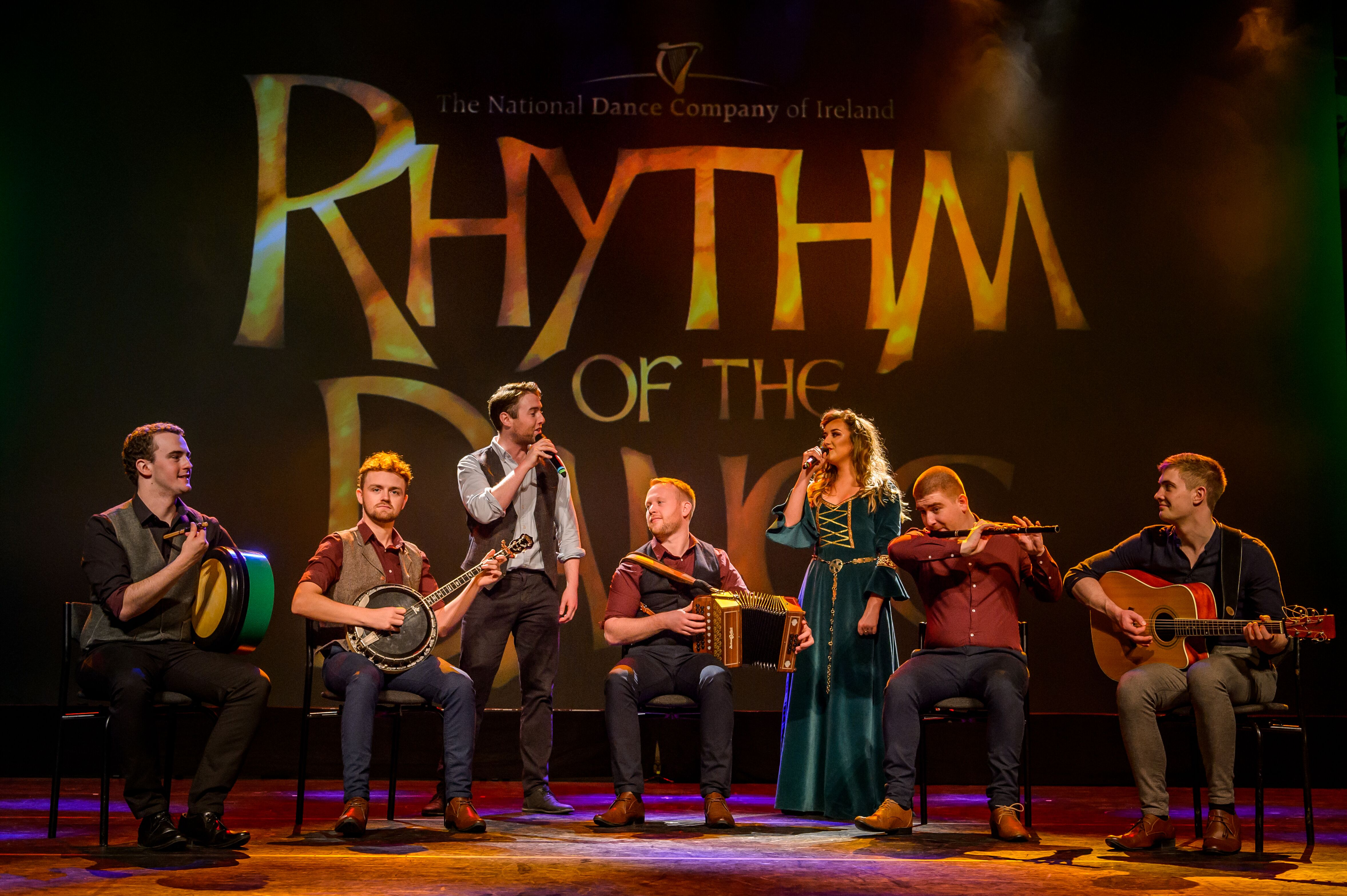 "Ireland's ""Rhythm of the Dance"" - World Champion Dancers Perform Step, Jigs, and Reels, Accompanied by Live Music"