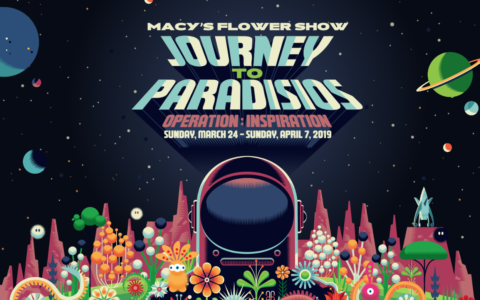 Macy's Herald Square Flower Show 2019 - Journey to Paradisios