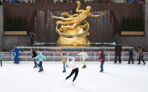 Skate for Free at Rock Center