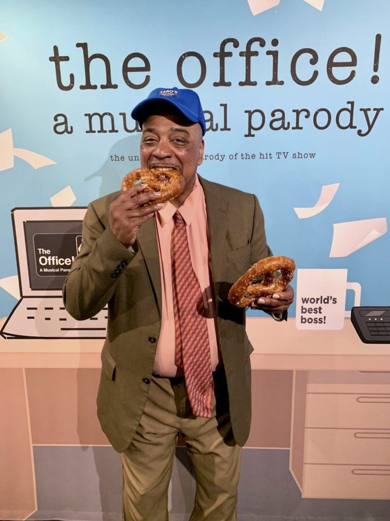 The Office! A Musical Parody and Zaro's Family Bakery are teaming up to celebrate National Pretzel Day this Friday, April 26